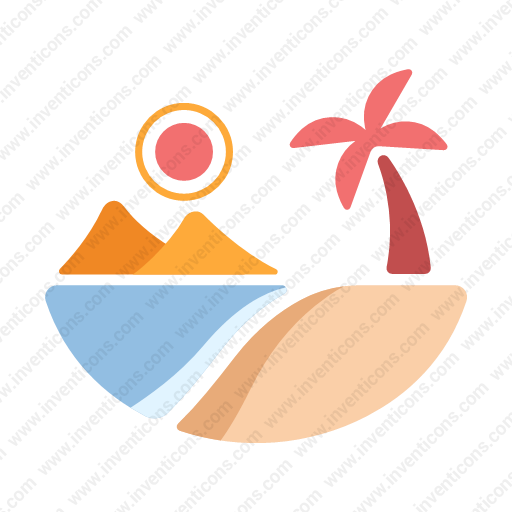 Download Beachsvg Icon Inventicons