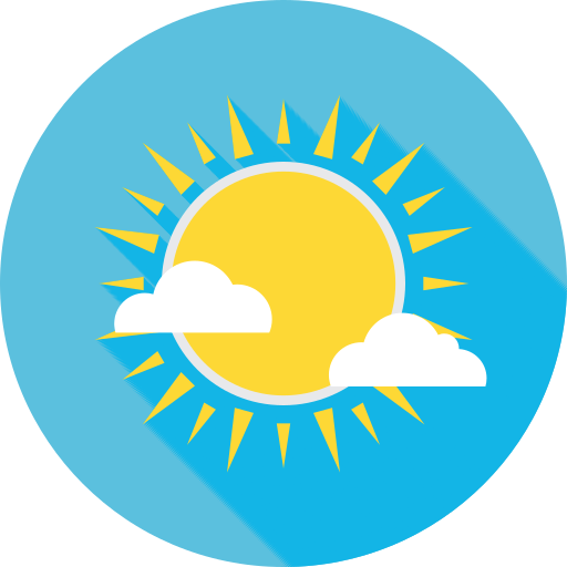 Sun, Cloud, Summer Icon Free Of Summer Travel Flat