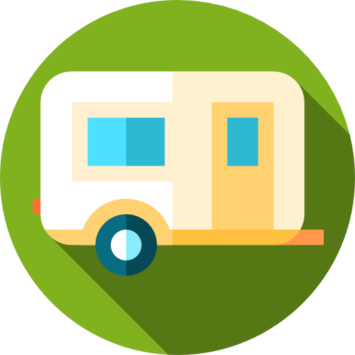 Transport, Camping, Summer Icon
