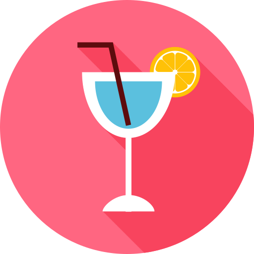 Coktail, Drink, Summer Icon Free Of Summer Travel Flat