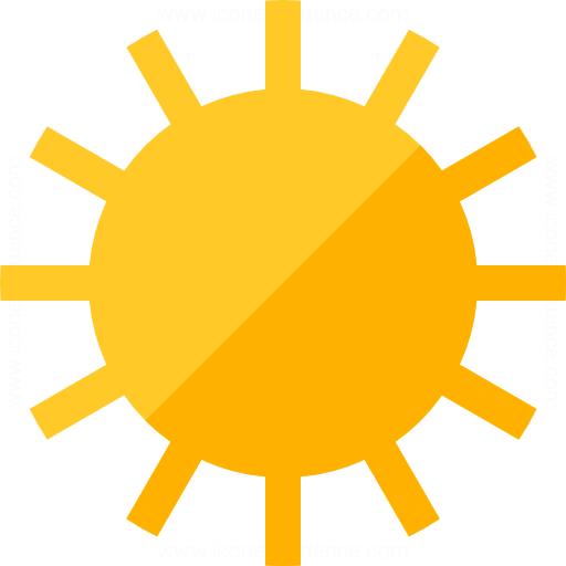 Iconexperience G Collection Sun Icon