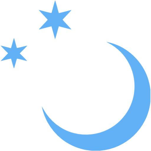 Tropical Blue Moon Icon