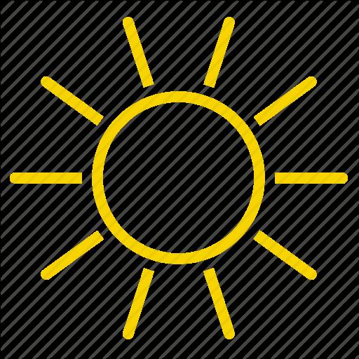 Day, Shine, Sun, Sunlight, Sunny Icon