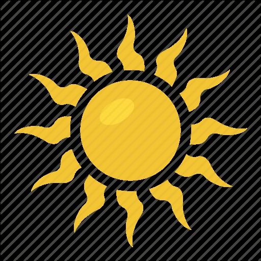 Solar Symbol, Sun, Sun Sign, Sun Symbol, Weather Symbol Icon