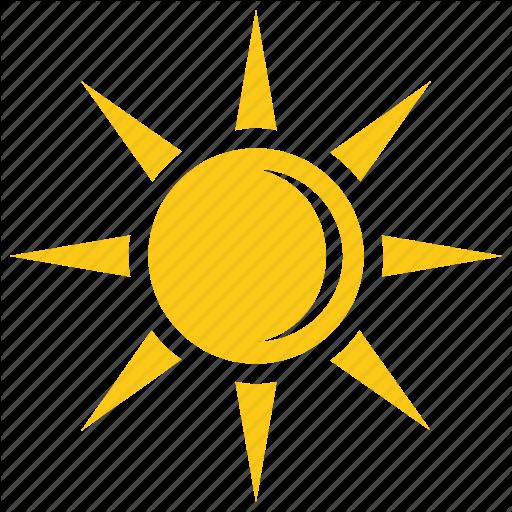 Bright Sun, Soleil Sun, Sun, Sun Rays, Sunshine Icon