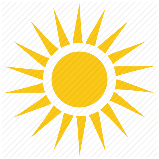 Solar Sun, Summer, Sun, Sun Rays, Sunshine Icon