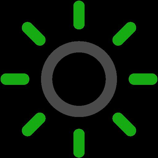 Bright, Brightness, Sun Icon