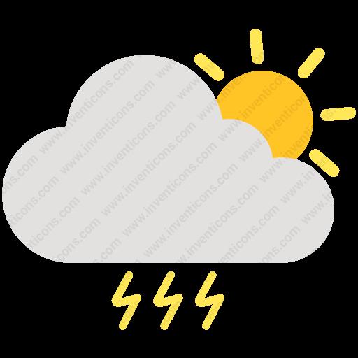 Download Cloud Sun Thunder,cloud,sun,thunder,thunderstorm,weather