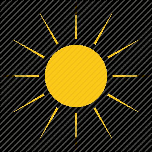 Solar Sun, Summer, Sun, Sun Rays, Sunshine Icon