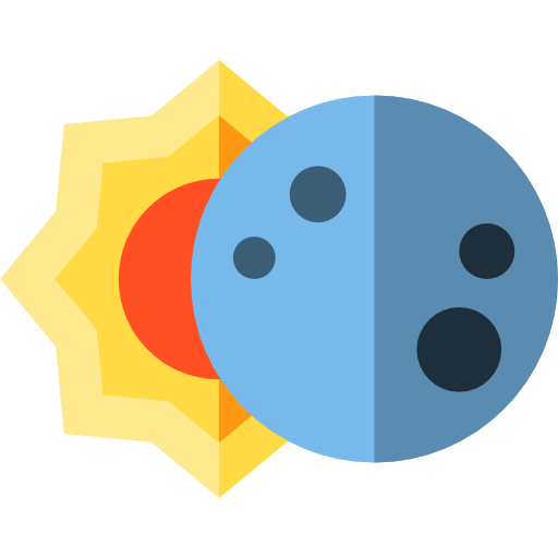 Miscellaneous, Moon, Sun Icon