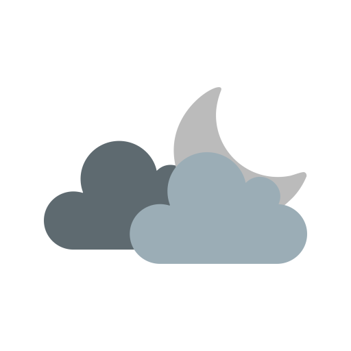 Moon And Clouds Transparent Png Clipart Free Download