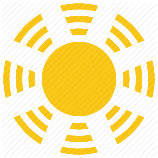 Bright Sun, Cartoon Sun, Solar Sun, Sun, Sun Rays Icon