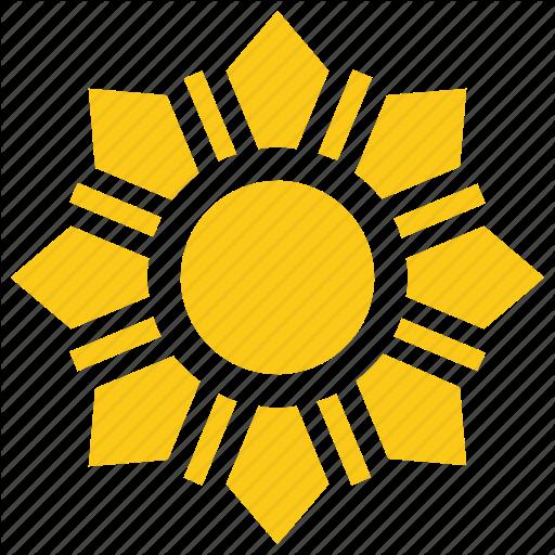 Bright Sun, Flower Sun, Solar Sun, Sun, Sun Rays Icon
