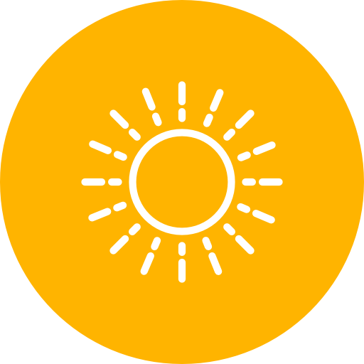 Sun, Rays, Summer Icon Free Of Summer Line Icons Set