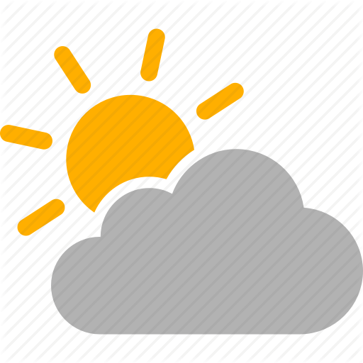 Cloudy Mostly Transparent Png Clipart Free Download