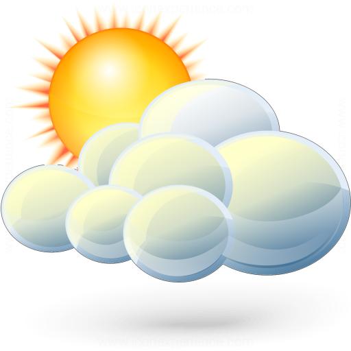Iconexperience V Collection Cloud Sun Icon