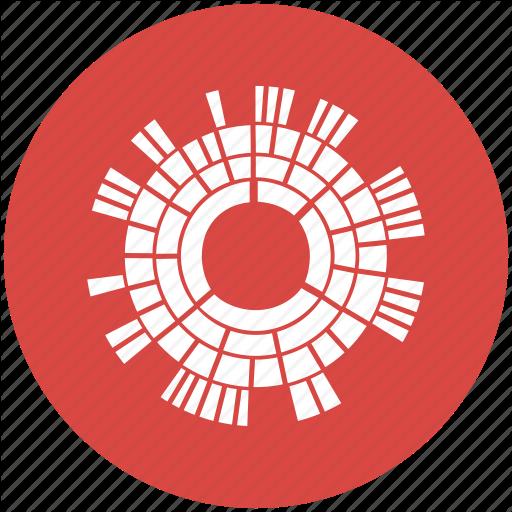 Burst, Chart, Diagram, Sun, Sunburst Diagram Icon