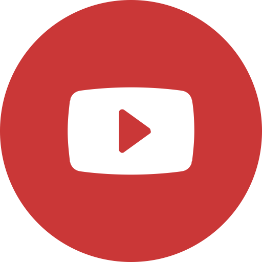 Youtube Round Icon Saint James' Episcopal Church