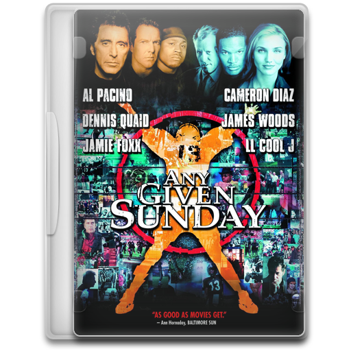 Any Given Sunday Icon Movie Mega Pack Iconset
