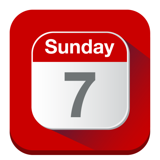 Calendar, Sunday, Day, Hour Icon Free Of Folded Flat Icons