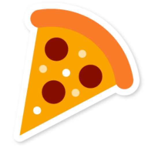 Cropped Pizza Icon