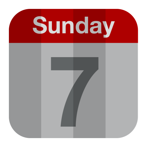 Calendar, Sunday, Day, Month Icon Free Of Folded Flat Icons
