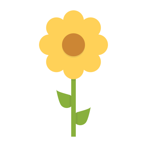 Flower, Nature, Sunflower, Spring, Ecology, Blossom Icon
