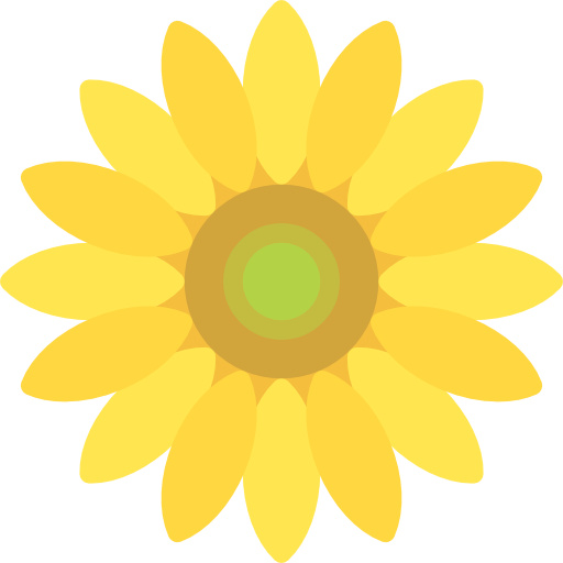 Sunflower Free Vector Icons Designed