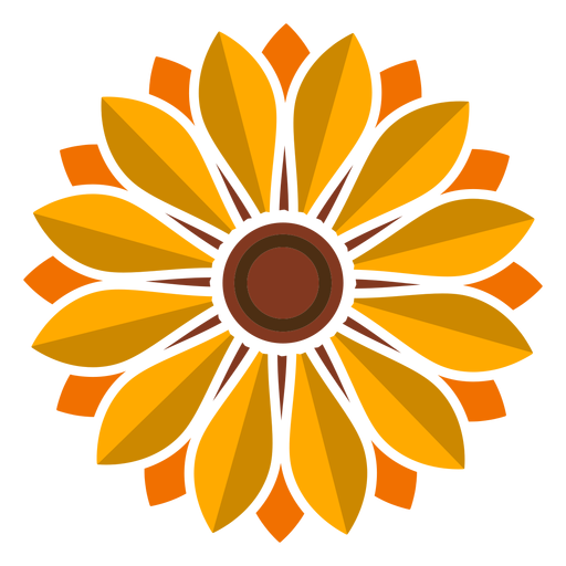 Sunflower Head Icon