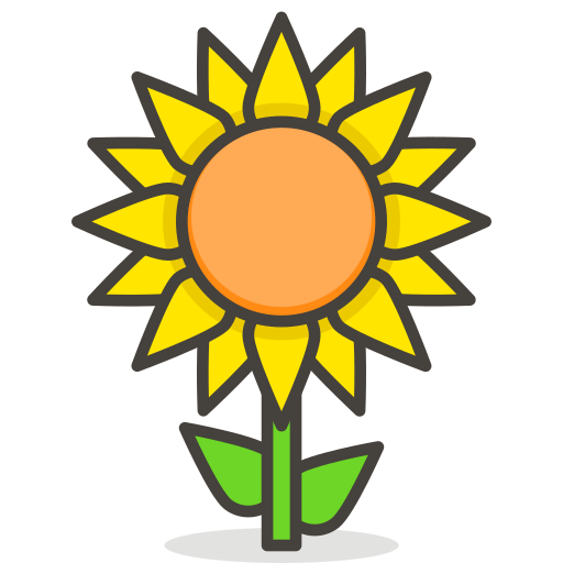Sunflower Icon Free Of Free Vector Emoji