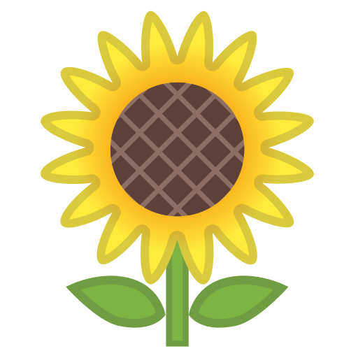 Sunflower Icon Free Of Noto Emoji Animals Nature Icons