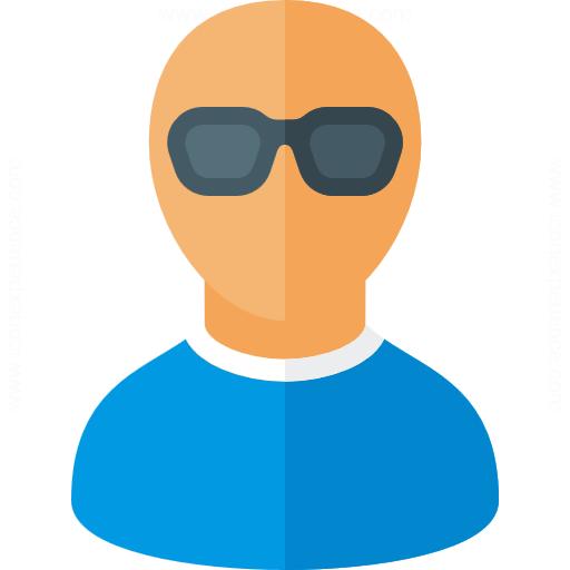 Iconexperience G Collection User Sunglasses Icon