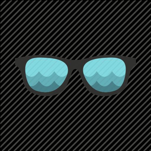 Accessory, Beach, Glass, Retro, Summer, Sun, Sunglasses Icon