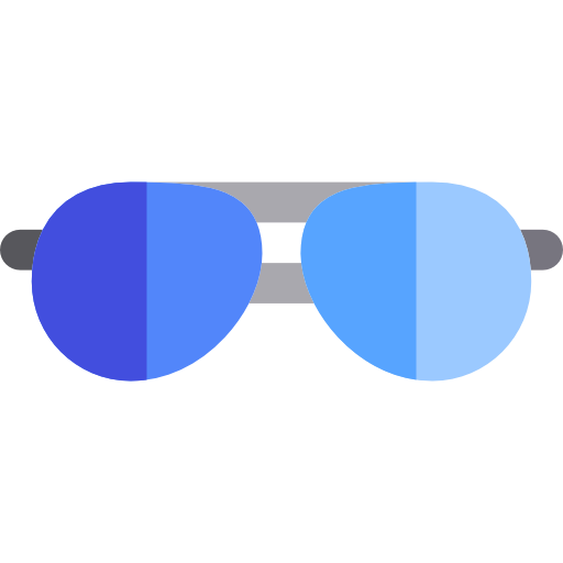 Glasses, Sunglasses, Medical Icon