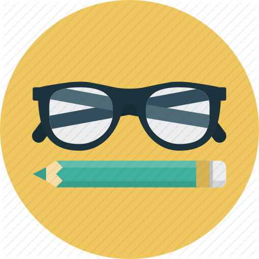 Round Glasses Icon Png