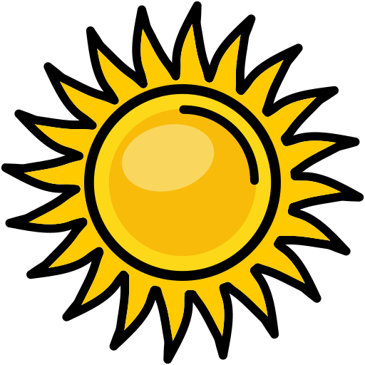 Heat, Nature, Shine, Sun, Sunny Icon Free Of Spring