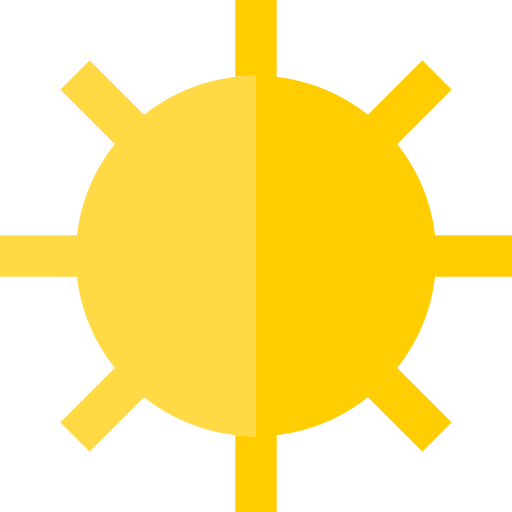 Sunshine, Nature, Sunny, Sun, Summer, Weather Icon