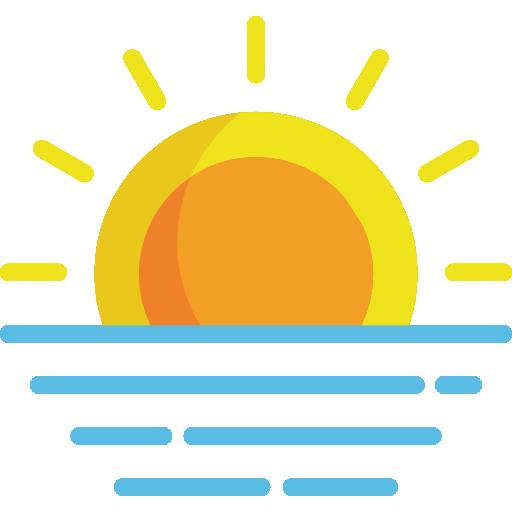 Sunrise Icon Weather Freepik