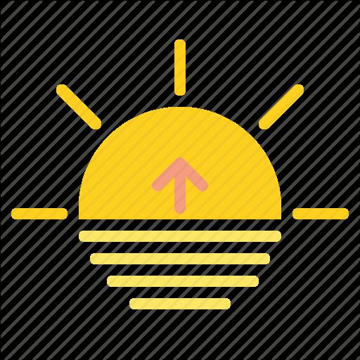 Day, Night, Sun, Sunrise Icon