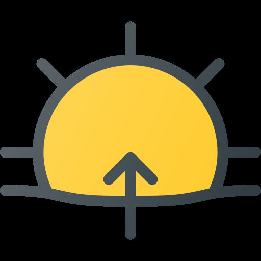 Weather, Forcast, Sun, Sunny, Day, Rise, Sunrise Icon Free Of Free