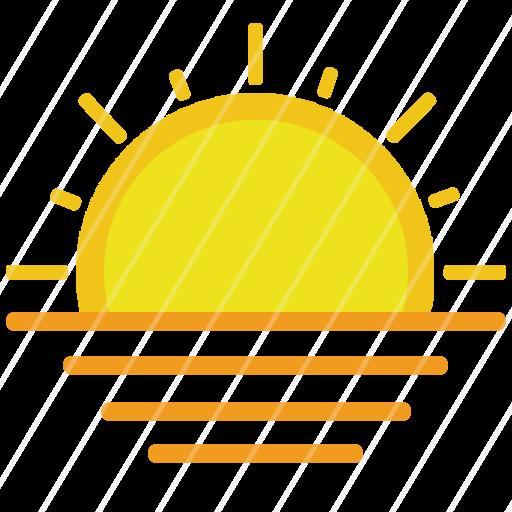Sun Rising Iconbasket