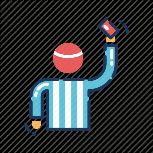 Football, Judge, Olympics, Referee, Soccer, Sports, Umpire Icon