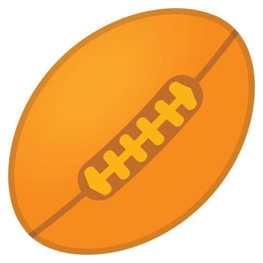 Rugby Football Icon Noto Emoji Activities Iconset Google