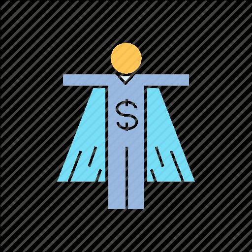 Funder, Hero, Money, People, Super Icon