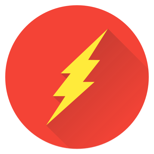 Hero, Earth, Man, Saver, Super, Superhero, Flash Icon