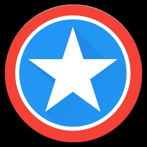 Saver, Captain, America, Hero, Captainamerica, Super, Superhero Icon