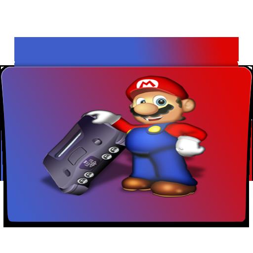 Mario Game Folder Icon Images