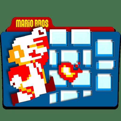 Super Mario Desktop Icons
