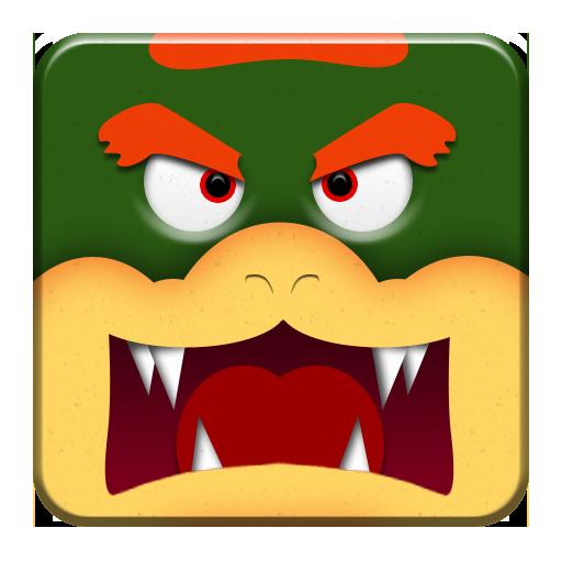 Bowser Block Icon