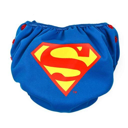 Bumkins Swim Diaper Superman Icon Canabee Baby